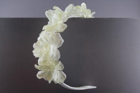 Cerchietto con 5 fiori di pesco BSC 905 Passapò