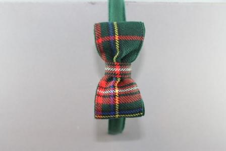 Cerchietto con fiocco cm 8 scozzese BSW915B CR Passapò