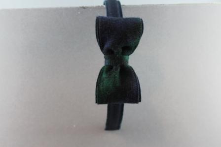 Cerchietto con fiocco cm. 8 scozzese BSW915C CR Passapò