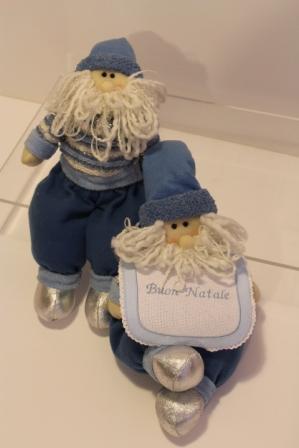 Babbo natale altezza 56cm idea regalo made in italy - Babbo natale modello artigianale ...